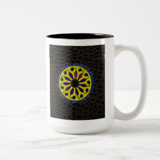 'Life Surrounded by Death' Two-Tone Coffee Mug