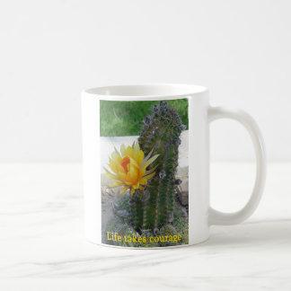 Life Takes Courage Coffee Mug