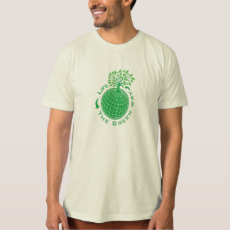 Life The Green Way Organic T-shirt