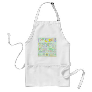 LIFE THE UNIVERSE AND COMPLEXITY CHART ADULT APRON