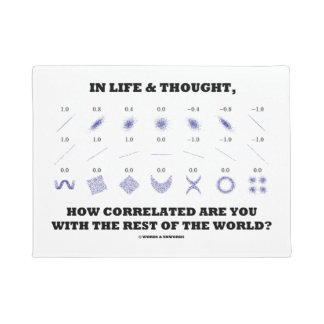 Life Thought How Correlated Are You With World Doormat