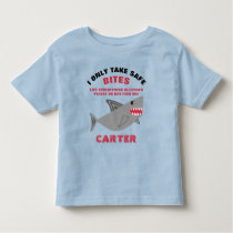Life Threatening Food Allergy Alert Shark Shirt