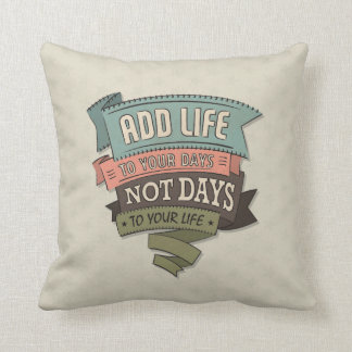 Life Throw Pillow