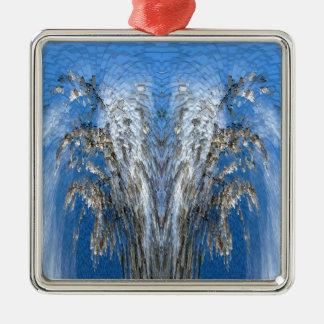 Life Tree Metal Ornament