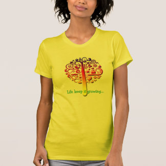 Life tree womens shirt design