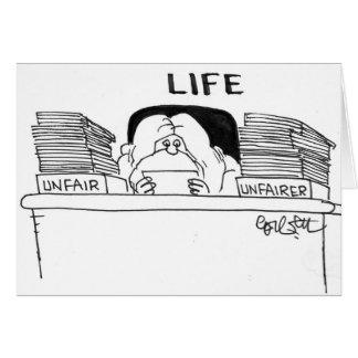 LIFE: Unfair...Unfairer Card