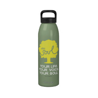 Life. Voice. Soul. - Tree Reusable Water Bottles
