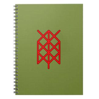 life warrior/ survivor bindrune note book