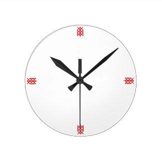 life warrior/ survivor bindrune round clock