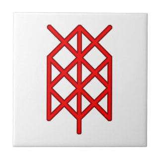 life warrior/ survivor bindrune tile