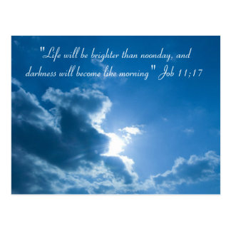 """Life will be..."" - Postcard"