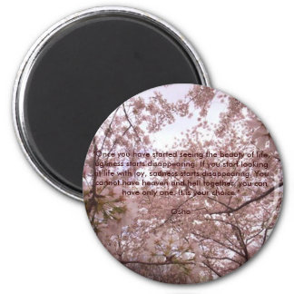 Life With Joy 2 Inch Round Magnet