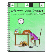 Life with Lyme Disease Notebook or Journal