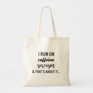 Life with Sarcasm Tote Bag