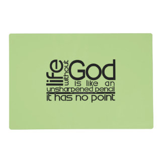 Life Without God... Placemat
