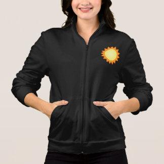 Life Works! Women's dark Fleece Zip Jogger Jacket