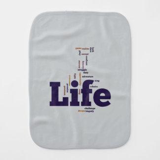 Life Burp Cloths