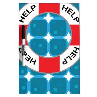 Lifebelt Lifesaver Vector Dry-Erase Board