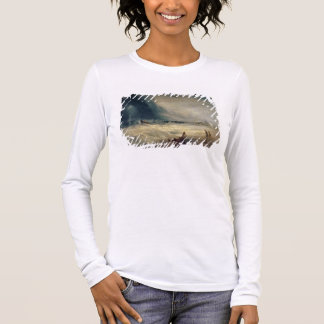 Lifeboat and Manby Apparatus going off to a strand Long Sleeve T-Shirt