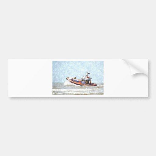 Lifeboat Bumper Sticker