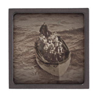 Lifeboat from the RMS Titanic Jewelry Box