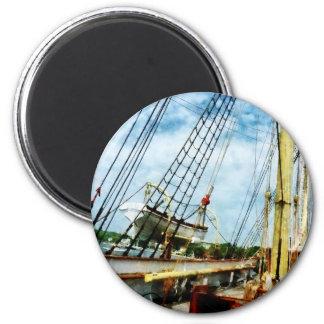 Lifeboat Fridge Magnet