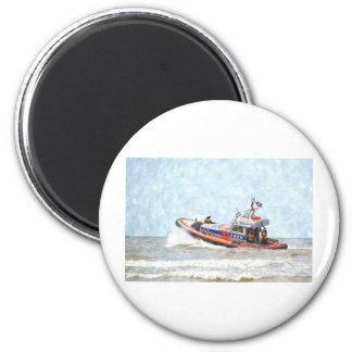 Lifeboat Refrigerator Magnet