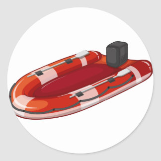 Lifeboat Classic Round Sticker