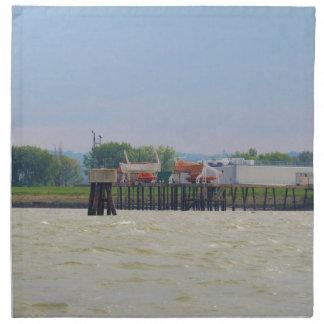 Lifeboats Printed Napkin