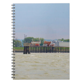 Lifeboats Spiral Notebooks