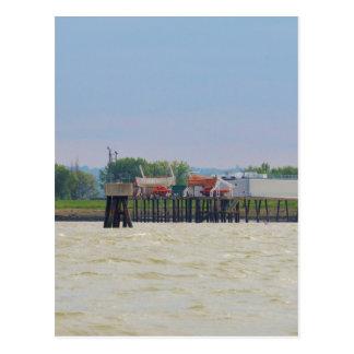 Lifeboats Postcard
