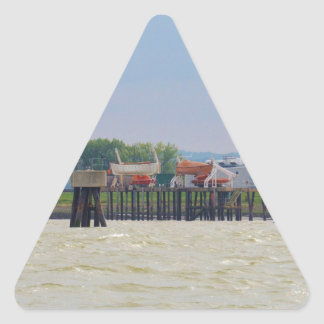 Lifeboats Triangle Sticker