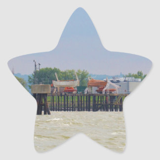 Lifeboats Star Sticker