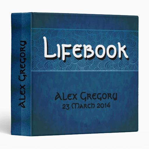 Lifebook 3 Ring Binder
