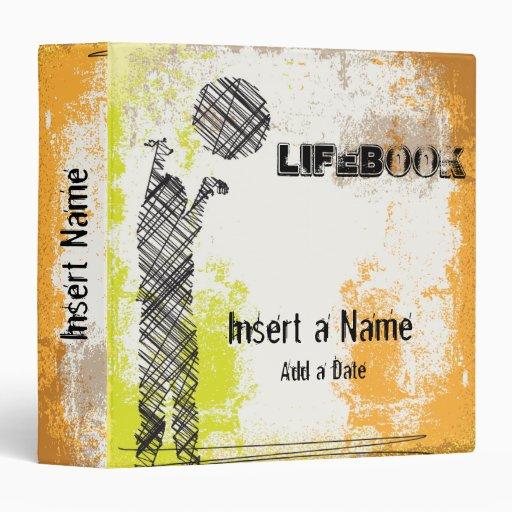 Lifebook 3 Ring Binders