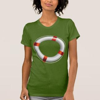 Lifebouy design on summer theme tshirt
