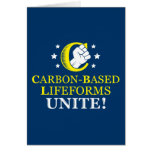 ¡Lifeforms Carbono-basado, une! Felicitacion