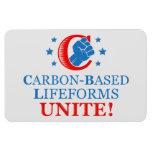¡Lifeforms Carbono-basado, une! Imán Flexible
