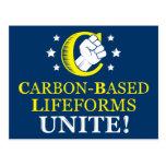 ¡Lifeforms Carbono-basado, une! Postal