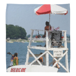 Lifeguard Beach Head Kerchief