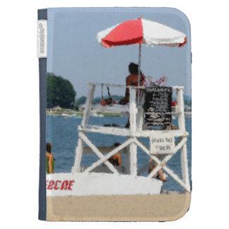 Lifeguard Beach Kindle Folio Cases