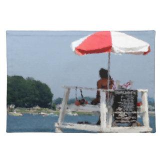 Lifeguard Beach Placemat