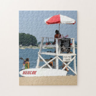 Lifeguard Beach Puzzle