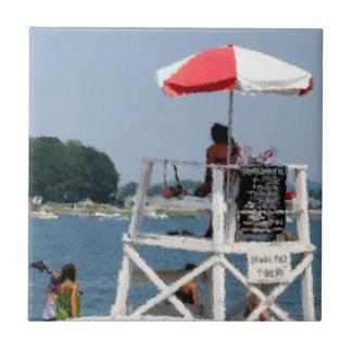 Lifeguard Beach Tile