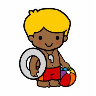 Lifeguard Boy Statuette