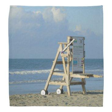 Beach Themed Lifeguard Chair At Folly Bandana