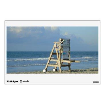 Lifeguard Chair At Folly Wall Decal