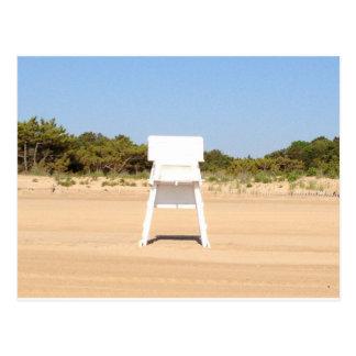 Lifeguard chair postcard
