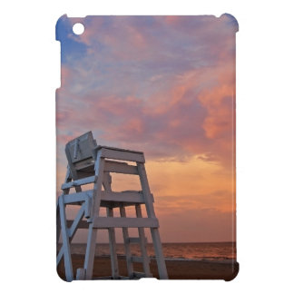 Lifeguard chair with dramatic sky. case for the iPad mini