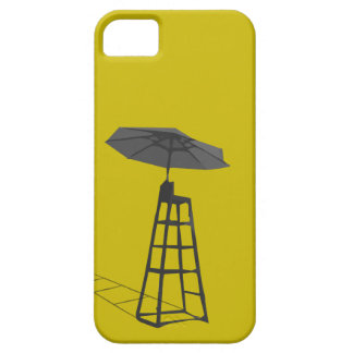 Lifeguard chair with umbrella Iphone Case